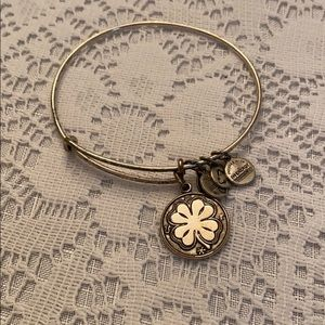 Alex & Ani Shamrock Bracelet